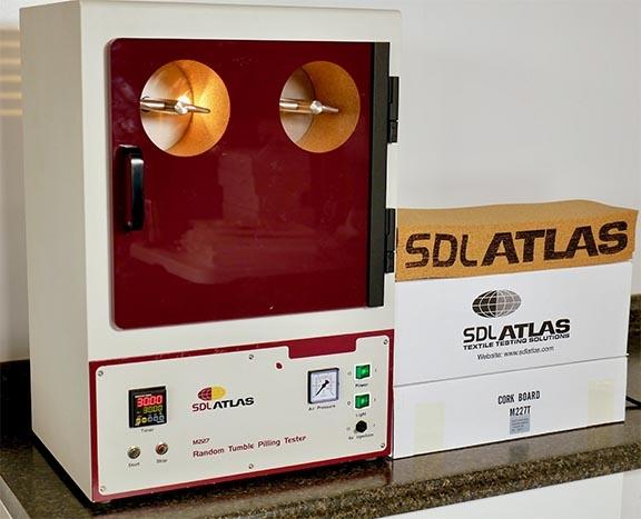 random tumble pilling tester atlas sdl method versatile astm